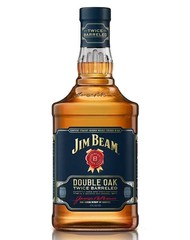 Виски, Jim Beam Double Oak, 43%, 0,7 л, ст/б/6