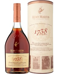 Коньяк, Remy Martin 1738 Accord Royal, 40%, 0,7 л, ст/б/ПК/12