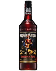 Ром, Captain Morgan Black, 40%, 0,7 л, ст/б/12